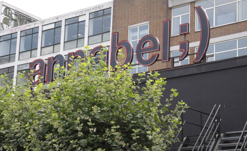 Club Annabel naambord Rotterdam