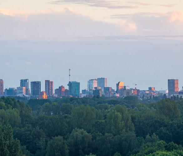 De prachtige Skyline van Rotterdam