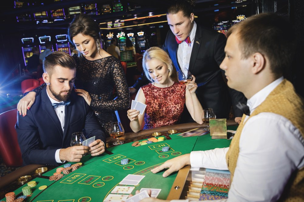 Pokerspelers in Holland casino Rotterdam