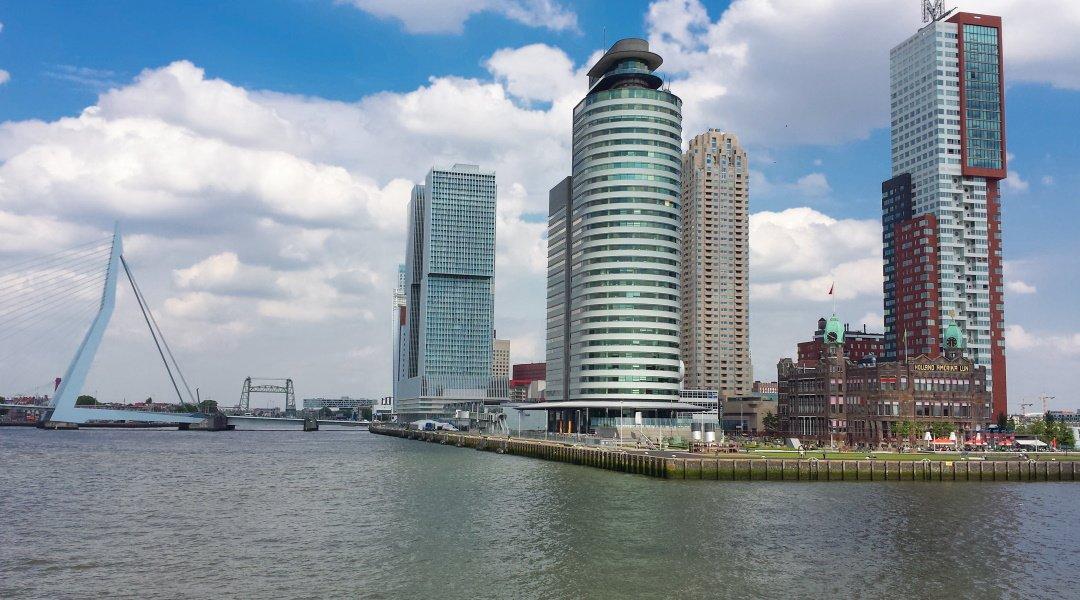 Hotel New York in Rotterdam op de Kop van Zuid