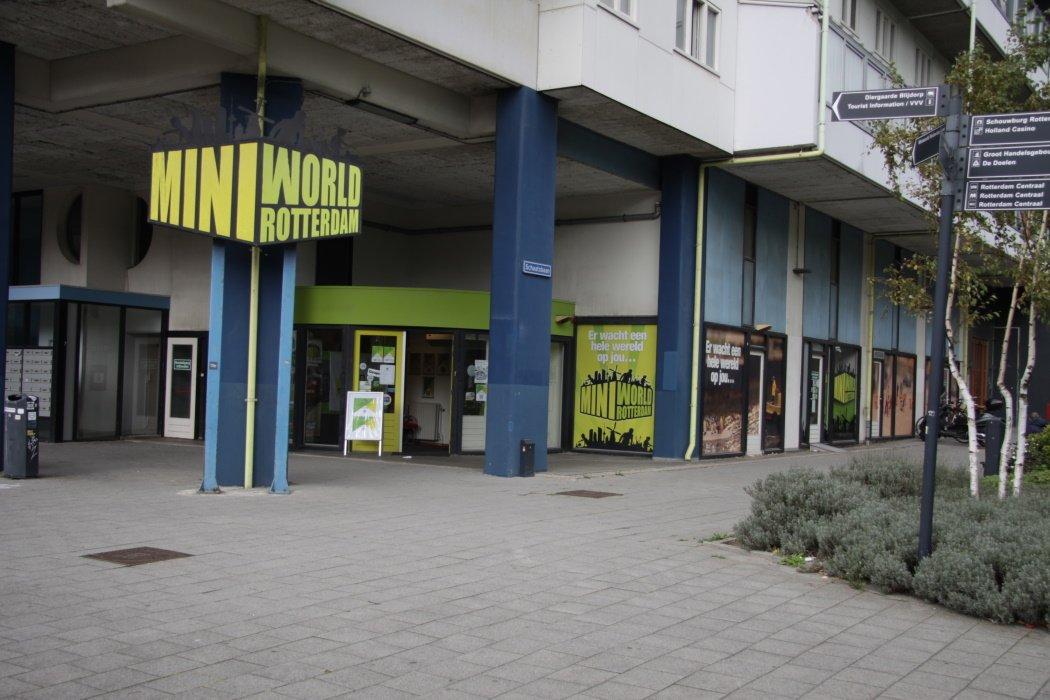 Ingang MiniWorld in Rotterdam
