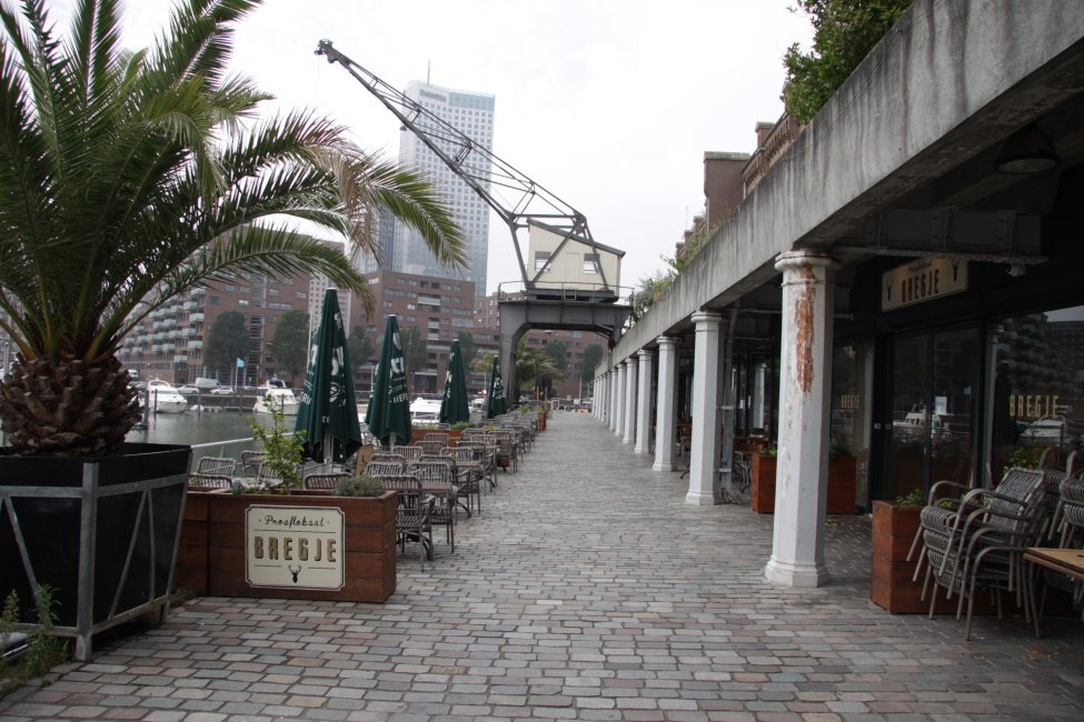 Terras van Bregje in Rotterdam