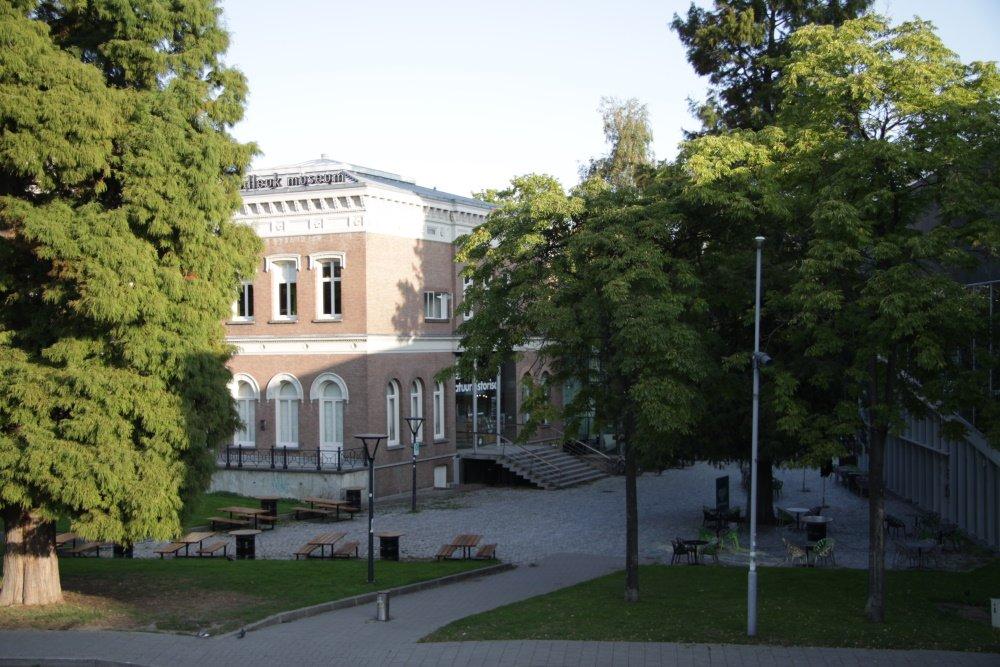 het Natuurhistorisch Museum in het Museumpark in Rotterdam