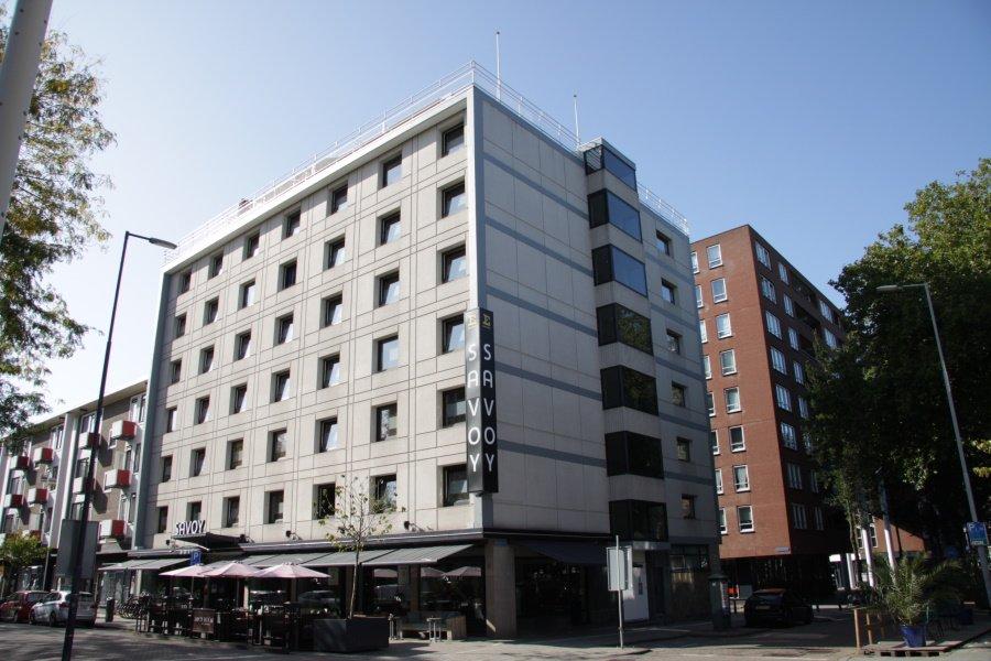 Savoy Hotel in de Hoogstraat in Rotterdam