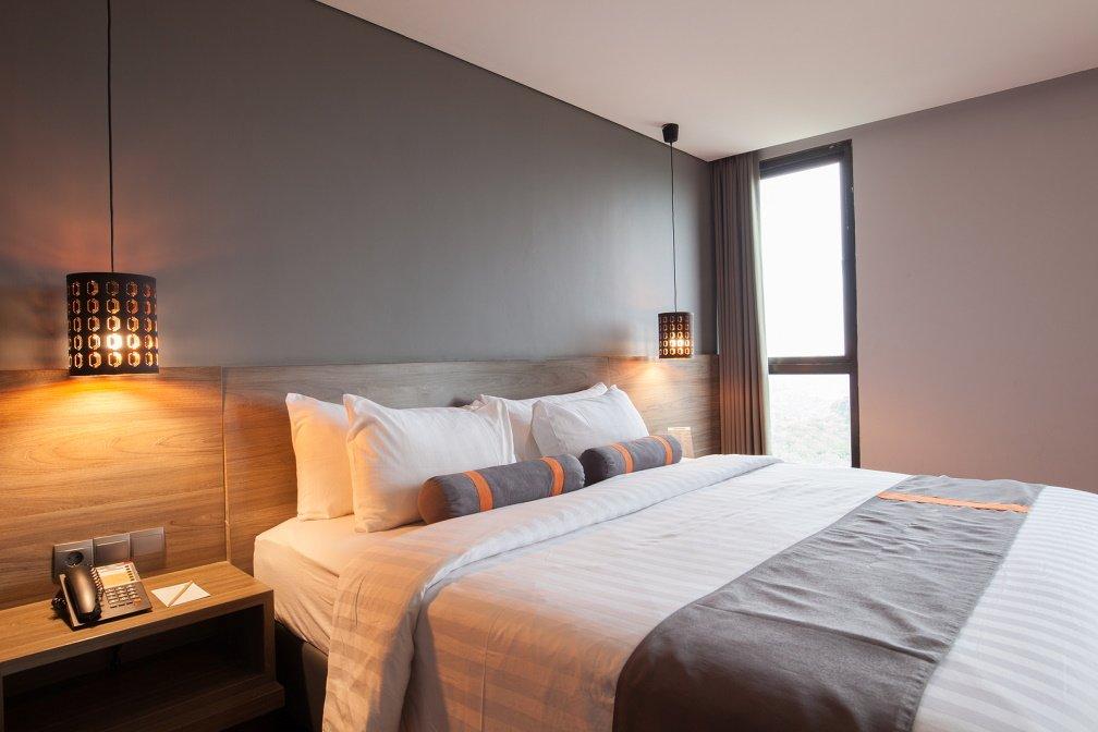 Hotelkamer van Hotel van Walsum in Rotterdam
