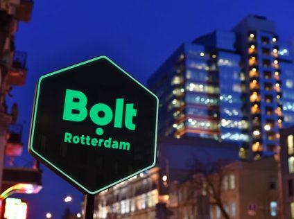 Taxi platform Bolt in Rotterdam